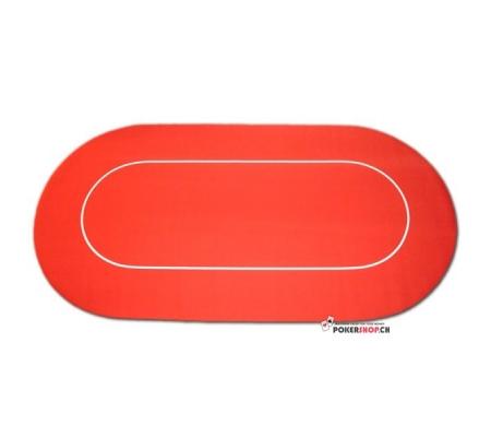 Tischauflage Rubber Rot
