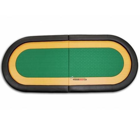 Tischauflage mit Speedcloth Tuch und holz Racetrack