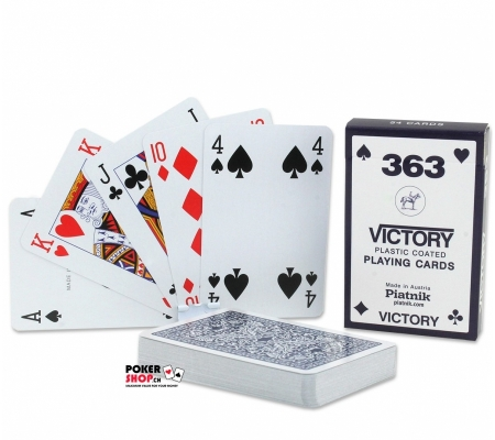 Piatnik Victory Bride Karten Blau