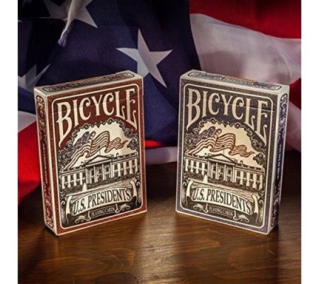 """Bicycle """"US Presidents"""" Blau"""