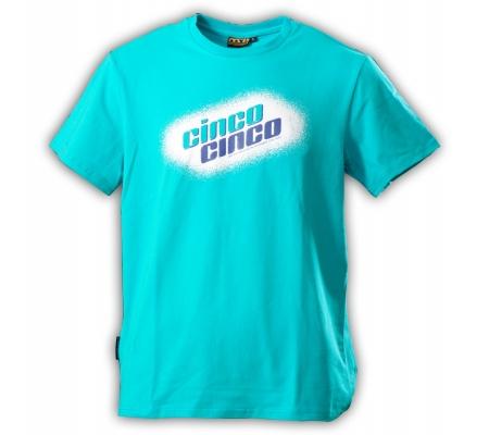 "Gamble Wear Shirt ""Cinco Cinco"" Türkis"