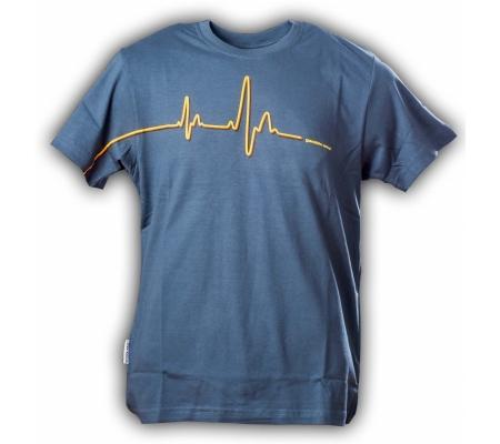 """Gamble Wear Shirt """"Pulse"""" Blau/Grau"""