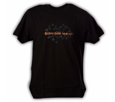 "Gamble Wear Shirt ""Gamble Bush"" Schwarz"