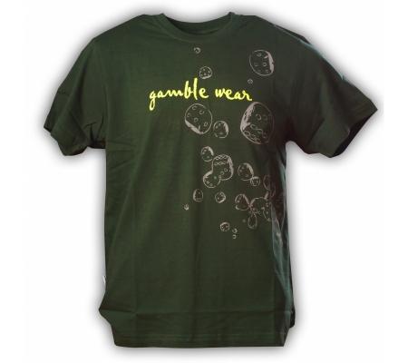 """Gamble Wear Shirt """"Dice"""" Grün"""