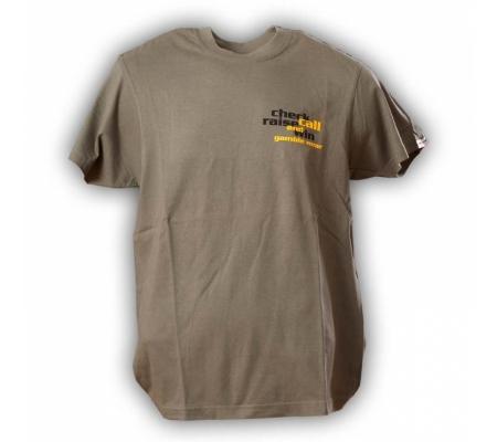 """Gamble Wear Shirt """"Check Raise Call"""" Armygreen"""