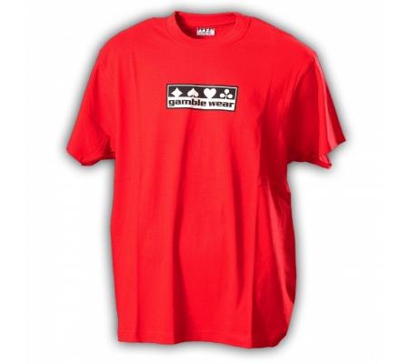 """Gamble Wear Shirt """"Classic"""" Rot"""