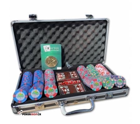 300er Set Joker Casino - Cash Game im schwarzen Koffer