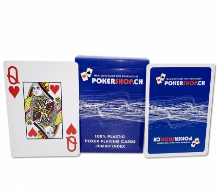 PokerShop Karten Blau