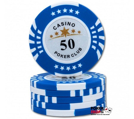 50er Poker Club Star Chip