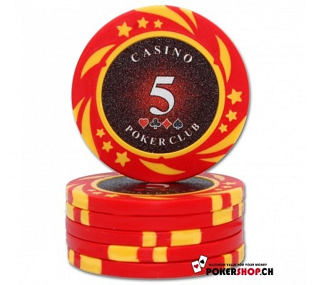 5er Poker Club Space Chip