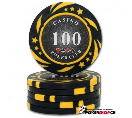 100er Poker Club Space Chip