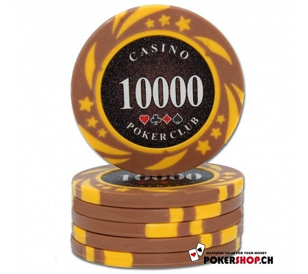10000er Poker Club Space Chip