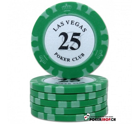 25er Las Vegas Poker Club Chip