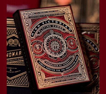 Theory11 High Victorian Deck Red