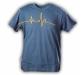 "Gamble Wear Shirt ""Pulse"" Blau/Grau Grösse L"