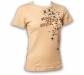 """Gamble Wear Shirt """"Lady Stardust"""" Beige Grösse L"""